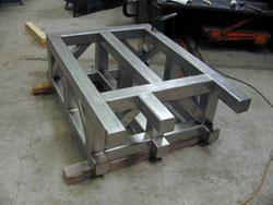 Smw Fabricated Machine Base Company In Austin Texas
