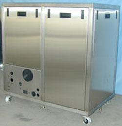 ... Custom Stainless Steel Control Cabinet Doors Panels Ultra  ...